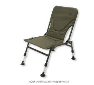 Daiwa BLACK WIDOW Carp Chair Model (18705-120)