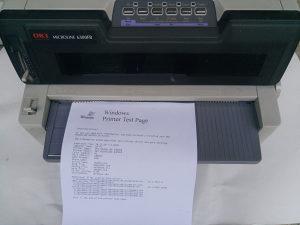 Matricni printer OKI Microline 6300FB