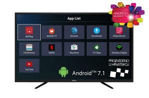 VIVAX TV-55UHD121T2S2SM, 4K Ultra HD, Android Smart