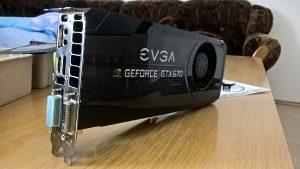 GTX 670 EVGA FTW 2 GB