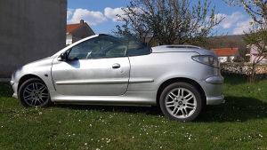 Peugeot 206 cc coupe cabriolet
