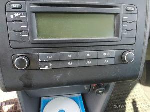 Vw Touran cd player,radio