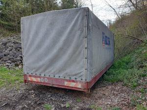 Sanduk za kamion 6,20×2,45 paletarac