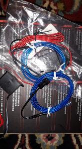 EL WIRE - Led traka - Neon traka 2m plava sa invertorom