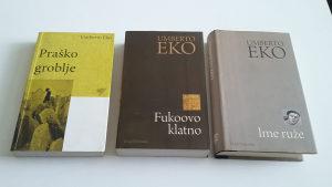 Umberto Eko - 3 knjige