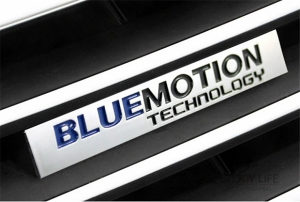 Znak BlueMotion Tehnology