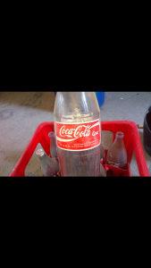 Stare flase od kole Coca Cola