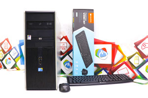 Računar HP DC7900 Core2Duo E8400; 160GB HDD; Win Vista
