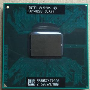 Procesor Core2Duo T9300 2.50GHz