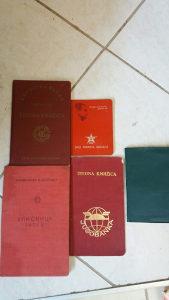 1000 razglednica,90pisama, YU dokumenti sve za 60 km