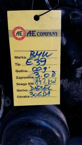 Motor BMW E39 3.0 D AE 984