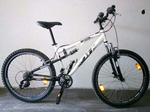 Bicikl HT full suspension alu ram