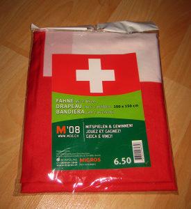 Zastava Švicarska 100x150 cm
