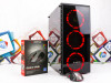 Gaming PC REDSKY i5-4570; RX 570; 12GB RAM; SSD; HDD