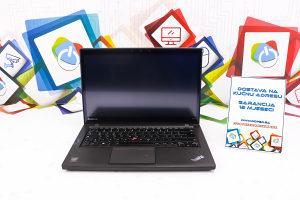 Laptop Lenovo T440s Touchscreen; i5-4300m; 8GB RAM; SSD