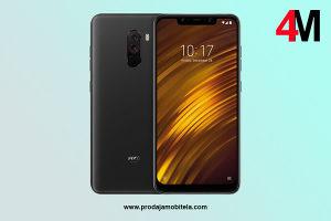 Xiaomi Pocophone F1 Dual 128GB 6GB Black