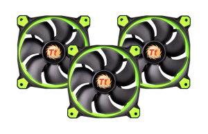 Thermaltake Riing 12 Green, 3 Pack
