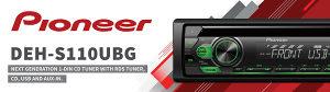 PIONEER deh-s110ubg Auto Radio