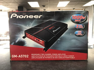 PIONEER gm-a5702 Auto Pojacalo