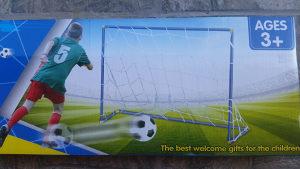 Gol za fudbal sa mrezicom (lopta i pumpa u setu)