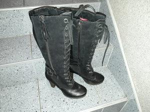 Tamaris cizme do koljena za djevojke/zene