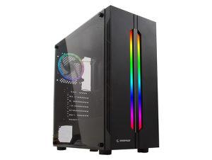 Kućište Rampage SPECTRA Crno Rainbow LED