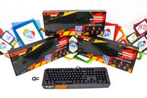 Gaming RGB MEHANIČKA tipkovnica CANYON HAZARD