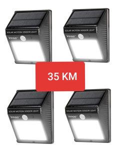 4 solarna reflektora samo 35km