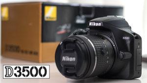 Nikon D3500 + 18-55mm + 16gb kartica AKCIJA SAMO DANAS!