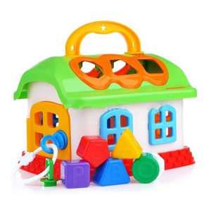 AKCIJA! Kućica sa geometrijskim oblicima,igračke