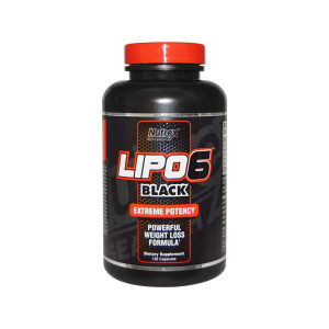 Nutrex Lipo 6 Black 120 kapsula