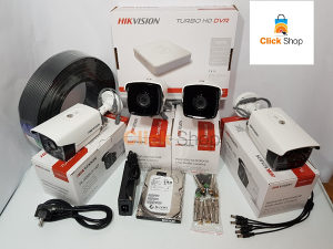 AKCIJA HIKVISION FULL HD 4 KAMERE 2.0 mp VIDEO NADZOR