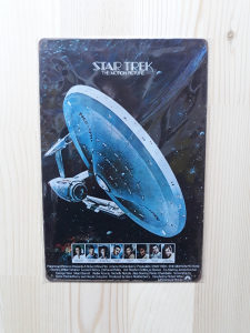 Star Trek / METALNA RETRO TABLICA