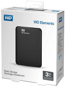 Western Digital 3TB EKSTERNI HARD DISK WD Elements