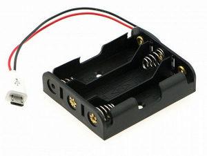 3AA Baterija to Micro USB Kuciste