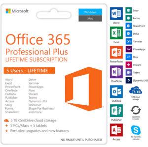 Microsoft Office 365 (2016-2019) ORIGINALNA LICENCA