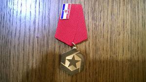 Medalja OPŠTENARODNE ODBRANE I DRUŠTVENE SAMOZAŠTITE