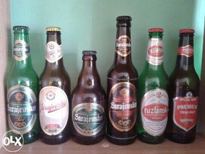 Prazne flaše ex YU piva