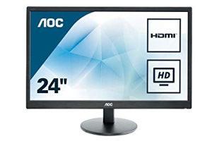 MONITOR AOC 24INCH LED / HDMI / 12MJESECI GARANCIJA