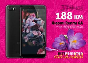 Xiaomi Redmi 6A |2GB+16GB|13+5 mpx|3000 mAh|Dual sim