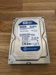 WD 500GB Blue HDD