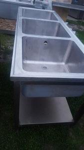 Sudoper inox 190cm ugostiteljska oprema ugostiteljstvo