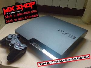 Sony Playstation 3 SLIM 250GB CRNI *KAO NOV* PS3 250 GB