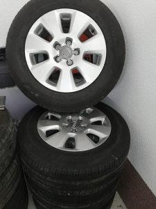 Aluminijske felge 16'  sa gumama za Audi A6 extra