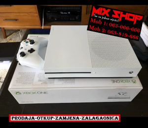 XBOX ONE 500GB BIJELI *KAO NOV*GARANCIJA*500 GB X BOX