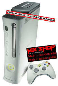 XBOX 360 CORE BIJELI *TOP**KAO NOV* X BOX