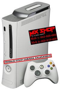 XBOX 360 S 320GB BIJELI *TOP**KAO NOV* 320 GB X BOX