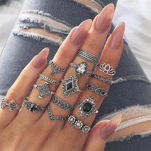 Set prstenova 15 komada