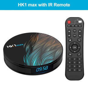 HK1 Max Smart TV Box Android 9.0