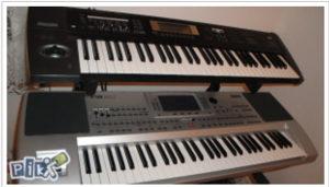 Ucenje svirat klavijature preko video zapisa.